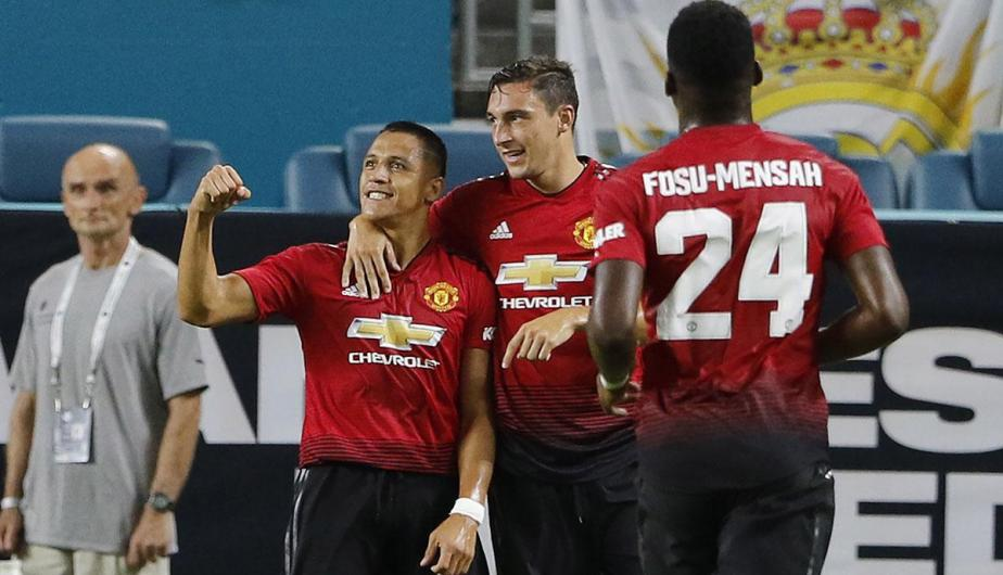 Manchester United derrotó por 4-2 al Real Madrid por la International Champions Cup | Fotos: EFE