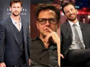 James Gunn no es respaldado por Chris Hemsworth y Chris Evans