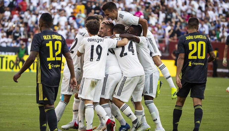 Real Madrid venció 3-1 a Juventus por la International Champions Cup | Fotos: EFE