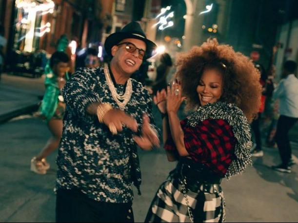 YouTube Daddy Yankee y Janet Jackson se unen en 'Made for now'