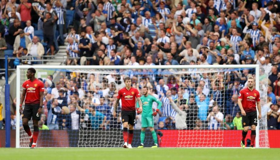Brighton & Hove Albion venció 3-2 al Manchester United en la fecha 2 de la Premier League | Fotos: Getty Images
