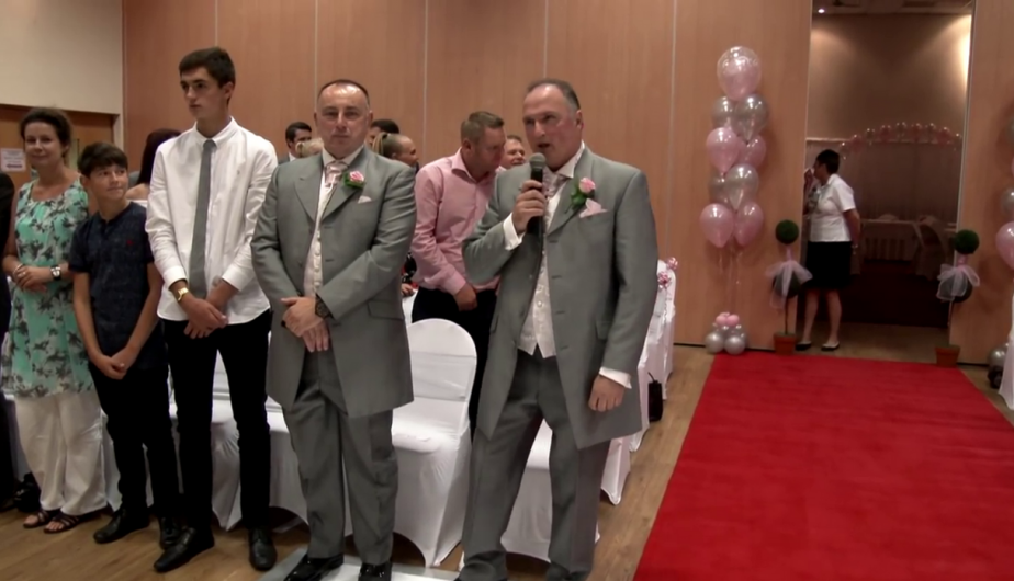 (Crédito: Wedding Videos Northamptonshire en Facebook)