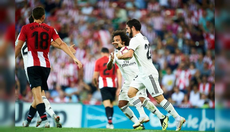 Real Madrid y Athletic Bilbao se enfrentaron en San Mamés por LaLiga Santander. | Foto: Getty