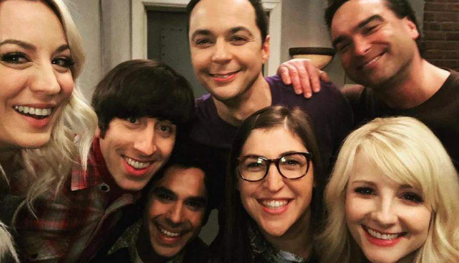"Elenco de la serie ""The Big Bang Theory"". (Foto: Instagram)"