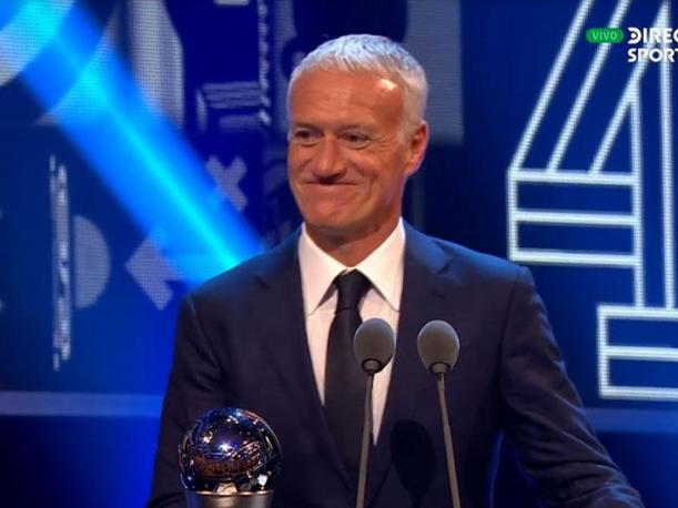 The Best Didier Deschamps ganó premio al mejor entrenador