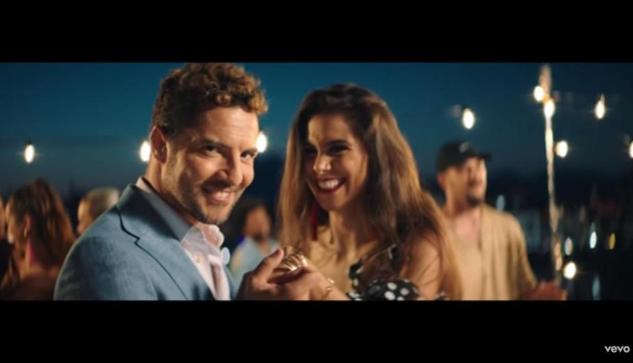 David Bisbal lanza junto a Greeicy Rendón 'Perdón'. | (Foto: Captura de video de YouTube)