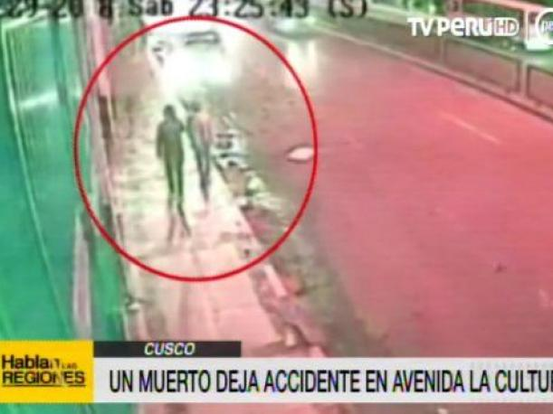 Cusco joven murió atropellado en impactante accidente