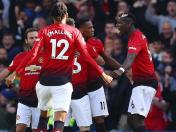 Manchester United derrotó 2-1 al Everton por la Premier League