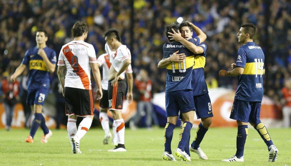 Boca Juniors logró su última victoria como local en un superclásico el 3 de mayo de 2015. (Foto: Getty Images)