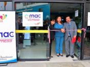 PCM inauguró un local de MAC Express en Santa Anita