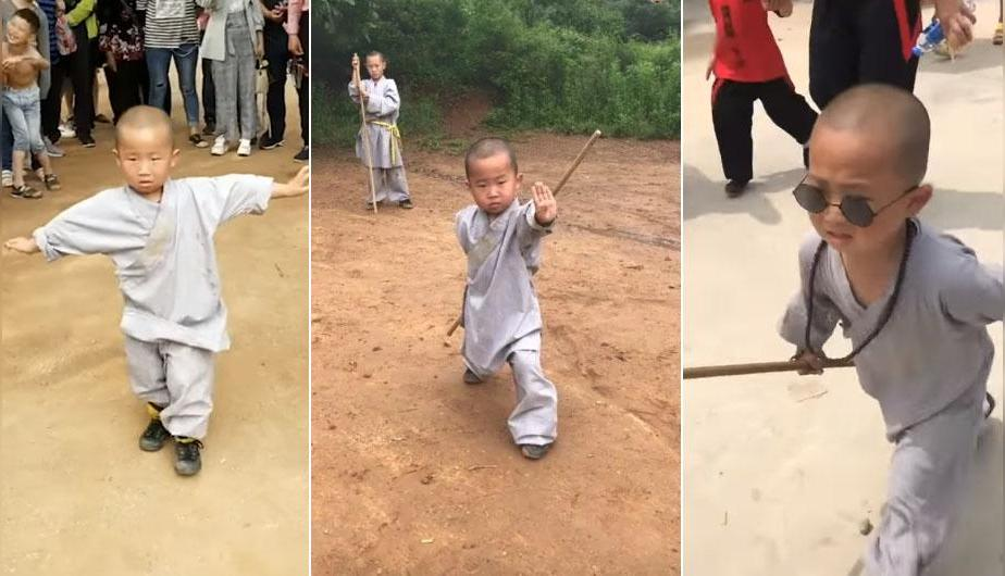 YouTube Video Viral: niño sorprende al mundo con su habilidad para artes marciales. (foto: YouTube | South China Morning Post)