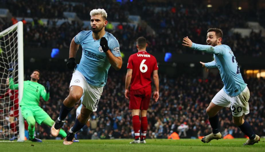 Manchester City y Liverpool se enfrentaron en el Etihad Stadium por la Premier League. | Foto: Getty