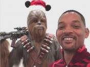 "Will Smith y su hilarante video hablando como Chewbacca de ""Star Wars"""