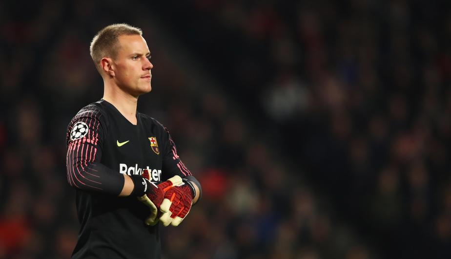 Marc-André ter Stegen / Barcelona. | Foto: Getty