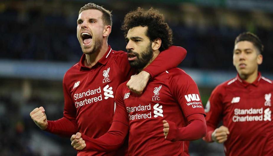 Liverpool FC venció 1-0 a Brighton & Hove Albion en la fecha 22 de la Premier League | Fotos: Getty Images