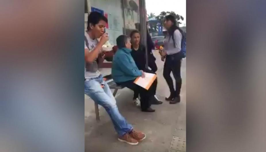 Video de Facebook generó diversas reacciones entre los usuarios de la red social. (Foto: Captura)
