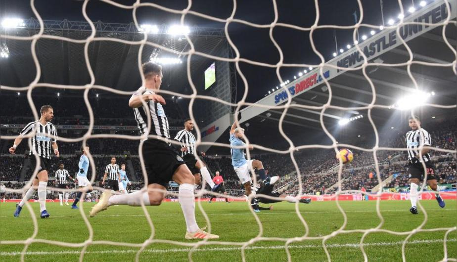 Manchester City y Newcastle se enfrentaron en el St. James' Park por la Premier League. | Foto: Getty