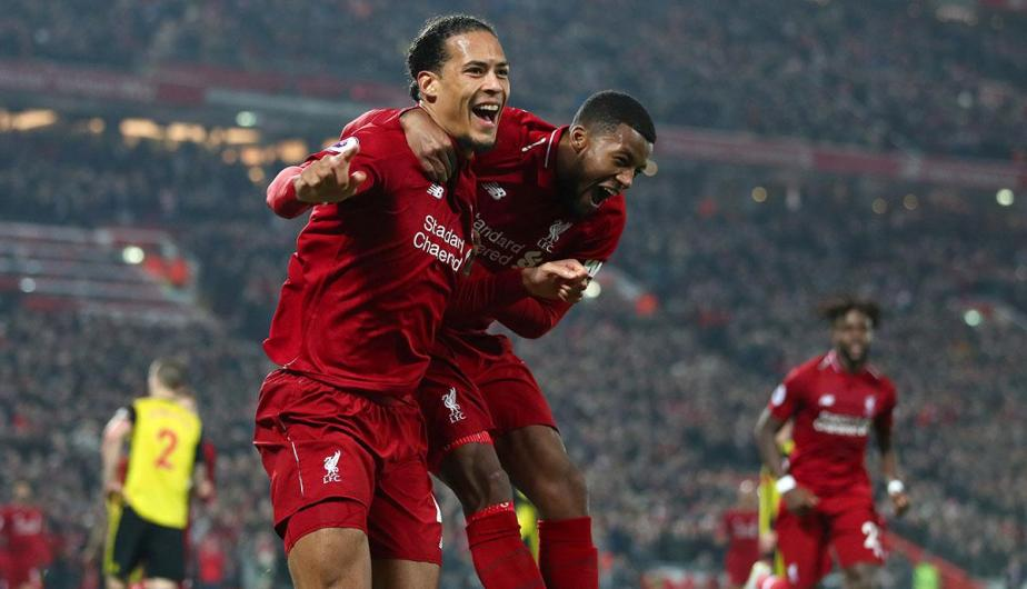 Liverpool venció 5-0 al Watford en la fecha 28 de la Premier League | Foto: Getty Images