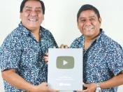 Hermanos Yaipén reciben premio de YouTube