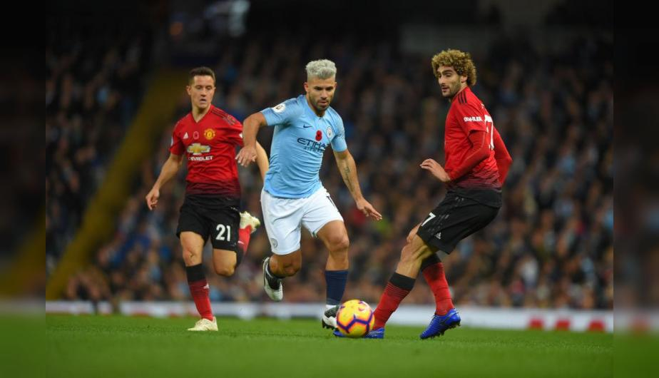 Manchester City y Manchester United se enfrentarán en Old Trafford por la Premier League. | Foto: Getty