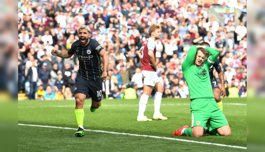 Manchester City y Burnley se enfrentaron en el Turf Moor por la Premier League. | Foto: Getty