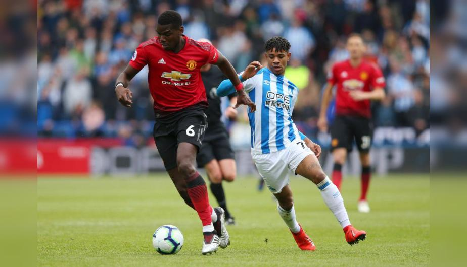 Manchester United y Huddersfield se enfrentaron en el John Smith's Stadium por la Premier League. | Foto: Getty