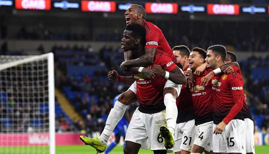 Manchester United vs Cardiff City jugarán por la fecha 38 de la Premier League | Fotos: Getty Images