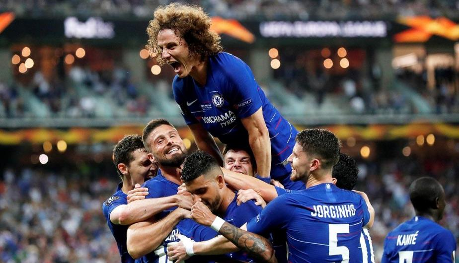 Chelsea vence 4-1 a Arsenal en la final de Europa League | Fotos: EFE