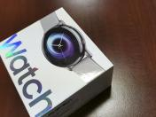 Unboxing Samsung Galaxy Watch Active 40 mm: abrimos la caja del reloj inteligente