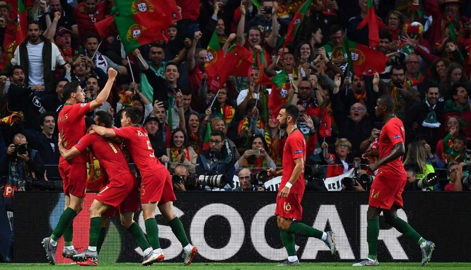 Portugal vence 1-0 a Holanda en la final de la UEFA Nations League | Foto: AFP