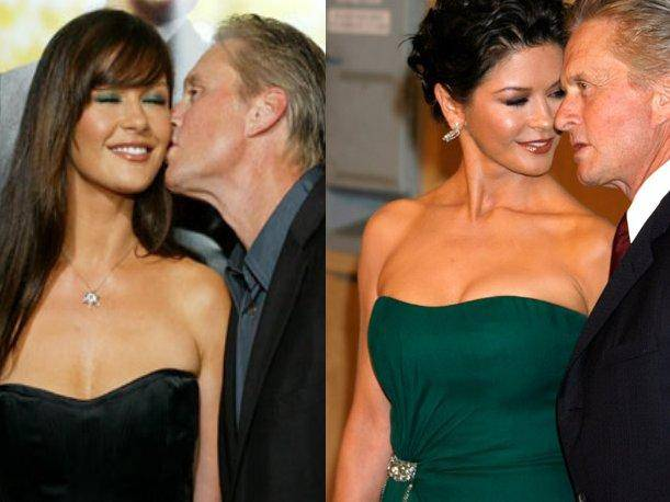 Michael Douglas y Catherine Zeta Jones celebran un año más de vida juntos (VIDEO)
