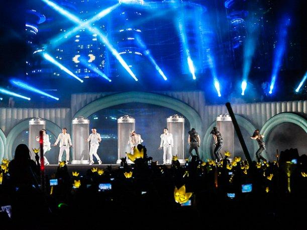 ¡Vea la locura desatada por Big Bang en vivo! (VIDEOS)