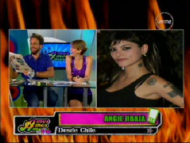 """Amor, amor, amor"": Angie Jibaja aclara que no es gay (VIDEO)"