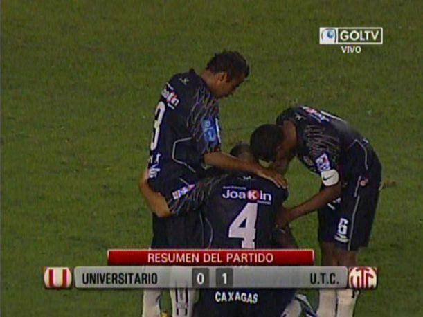 Descentralizado 2013: Universitario cae ante UTC de Cajamarca (VIDEO)