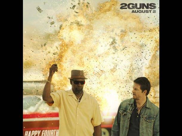 "Denzel Washington y Mark Wahlberg brillan en la película ""2 Guns"" (VIDEO)"