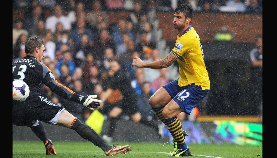 Fulham 1-3 Arsenal. (Foto: Getty Images)