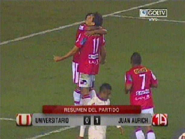 Descentralizado 2013: Gol del triunfo de Juan Aurich sobre Universitario (VIDEO)