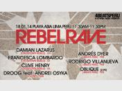 Rebel Rave 2014: Line up (Fotos)