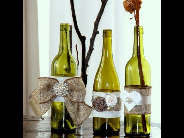 per ideas creativas para decorar tu casa con botellas de vidrio