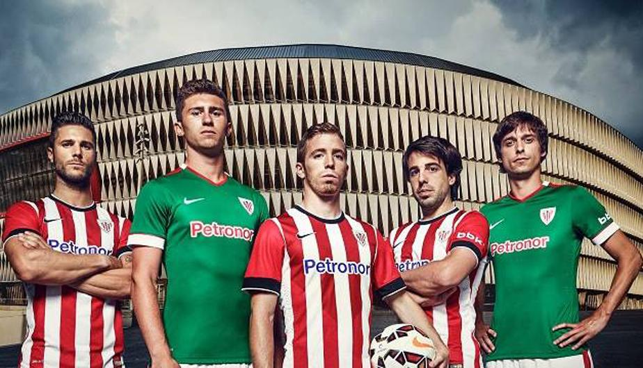 Camiseta Nike oficial Athletic Bilbao 2014-15