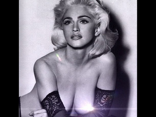 leaked topless Madonna