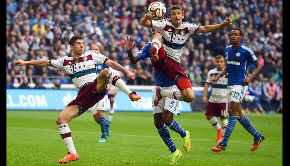 1-1 terminó el Schalke 04 vs. Bayern Munich. (Foto: Getty Images)