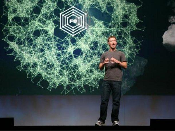 Mark Zuckerberg presentation på F8