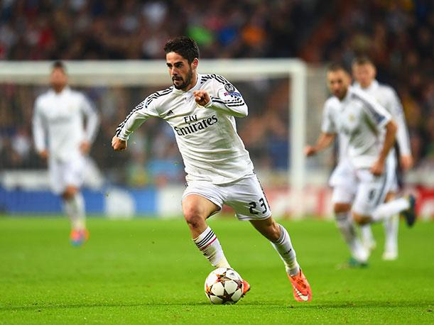 Real Madrid: Isco Alar...