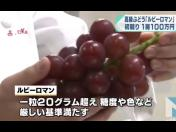 ¿Pagarías US$8.200 por un racimo de uvas? (VIDEO)