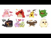 Facebook Messenger agrega stickers animados de Angry Birds