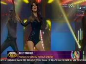 Delly Madrid cautivó como Natalia Oreiro en Los Reyes del Playback