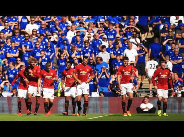 Image Result For Manchester United Vs Leicester City Youtube Vivo