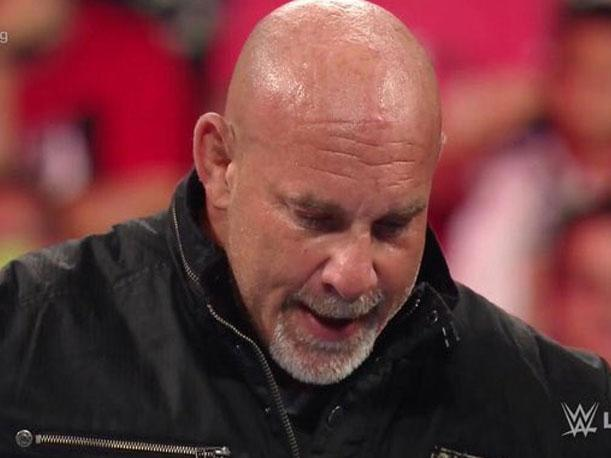 WWE: así fue la entrada de Bill Goldberg en Monday Night Raw