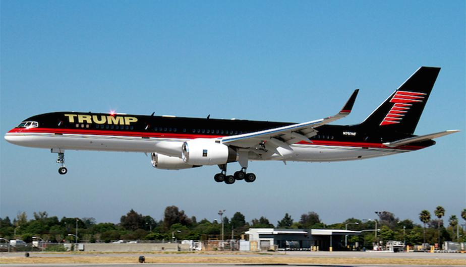 Donald trump conoce por dentro el lujoso avi n que tendr for Interieur boeing 757
